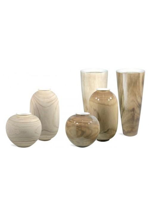 Pots décoratifs Natural Désign WOODY VASE/CLASSIC