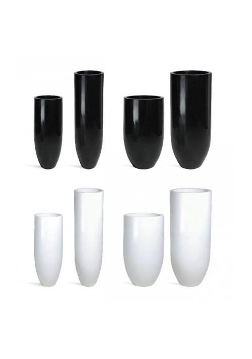 Pots décoratifs Désign PANDORA BLACK & WHITE