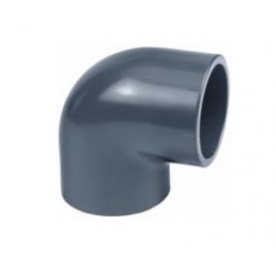 Coude 90° PVC pression