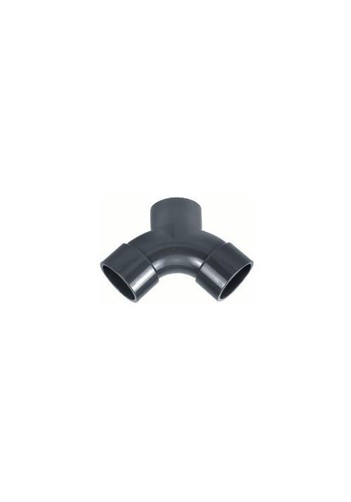 Courbe en Y PVC pression piscine