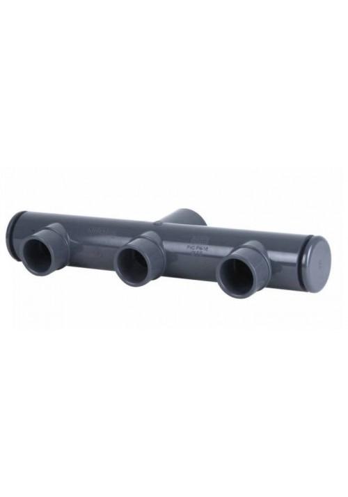Collecteur PVC pression pour piscine