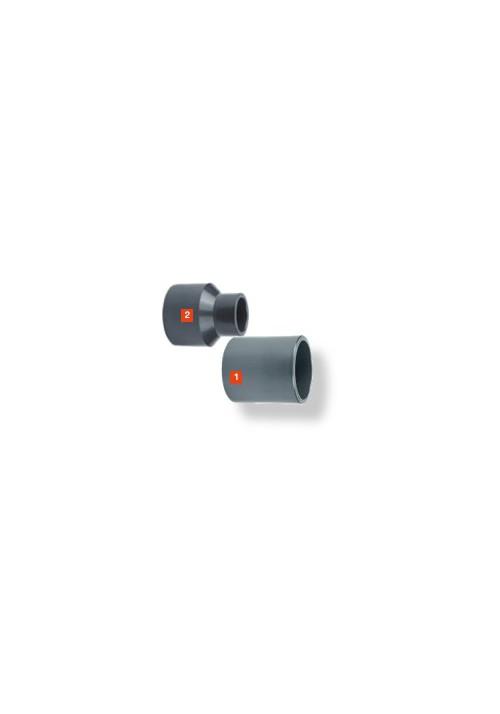 Manchon d'adaptation pouce/métrique PVC pression