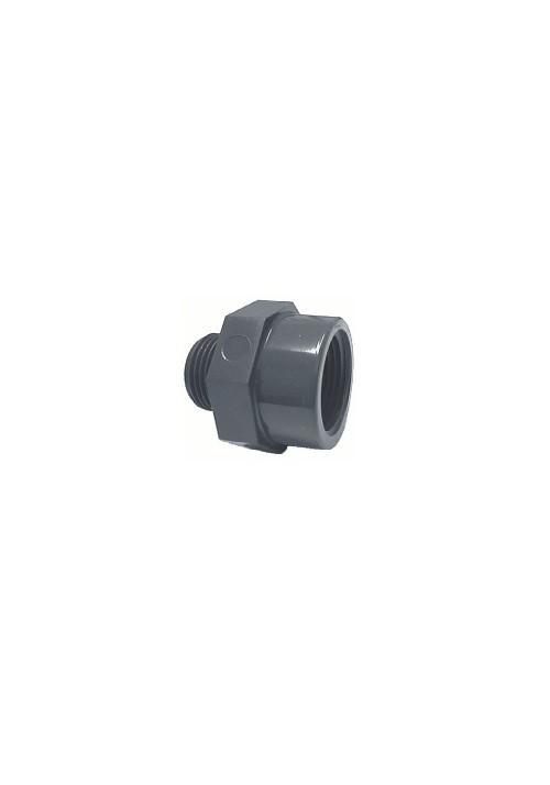 Réduction double F/M réduit PVC pression pour piscine