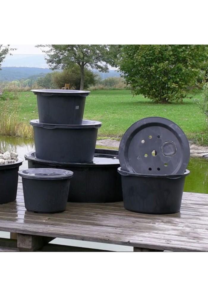 Bac pour fontaine de jardin for Jardin en bac