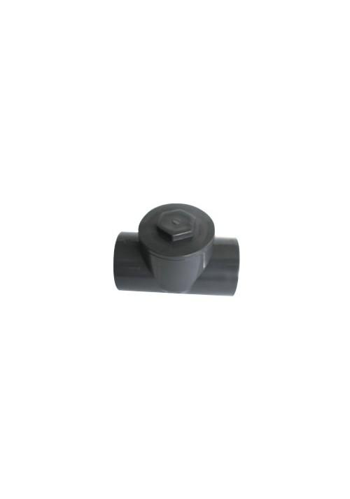 Clapet anti-retour à battant en PVC pression pour piscine
