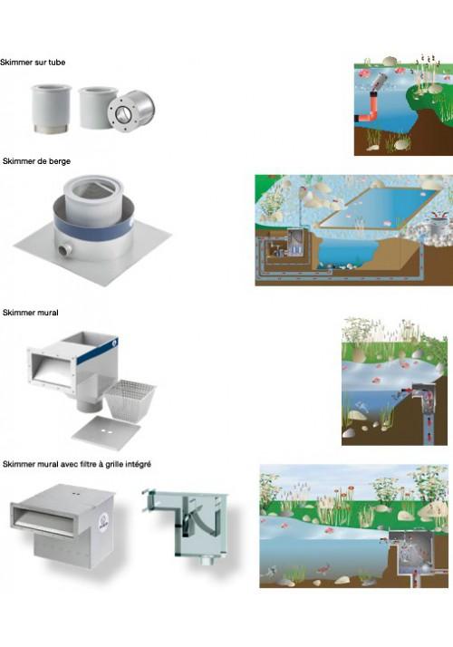 Filtration modulaire pour bassins et baignades naturelles ModulPro Inox