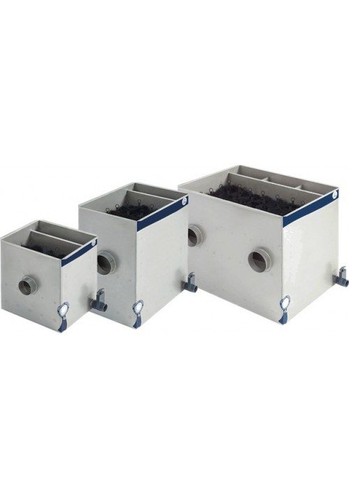 Filtre modulaire à brosses pour bassins ModulPro Inox BioBRUSH