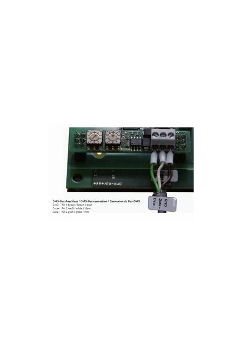 Module DMX 512- pour convertisseur Maître Vitalight