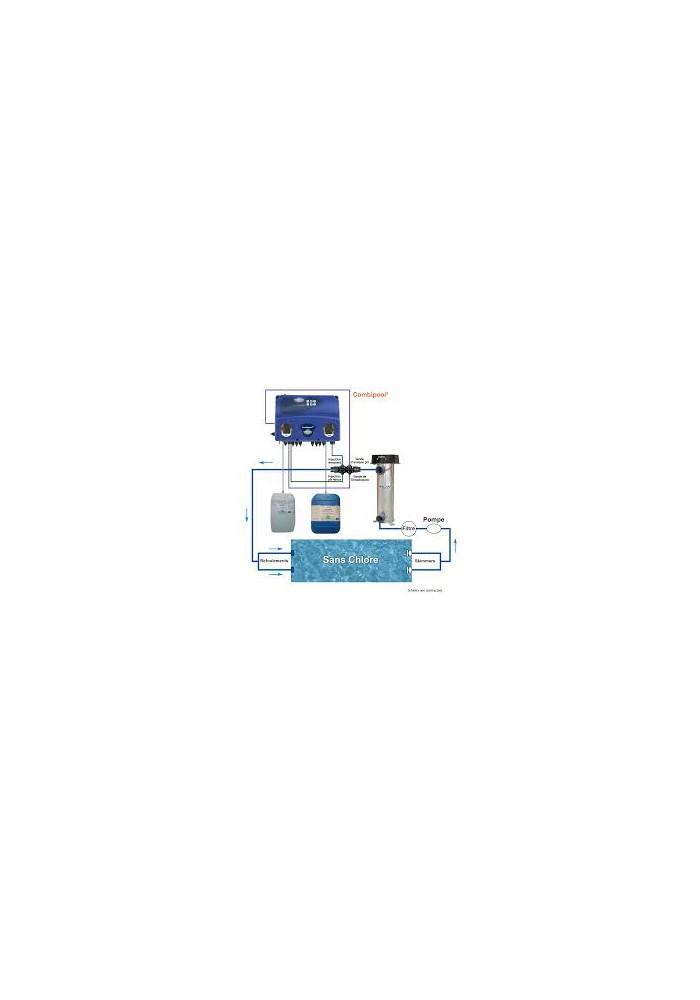 Kit de traitement biologique des piscines for Traitement piscine a l oxygene actif