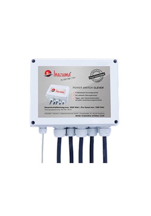 Centrale de commutation Clever Power Switch pour filtre à tambour Inazuma