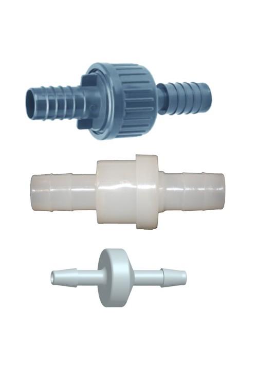 Clapet anti-retour PP pour circuit d'oxygénation