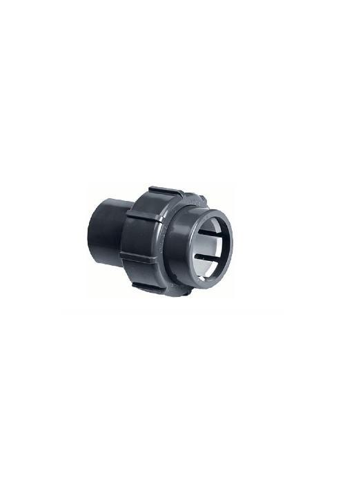 Raccord rapide Embout mixte FF à coller/à compression pour PVC souple de piscine