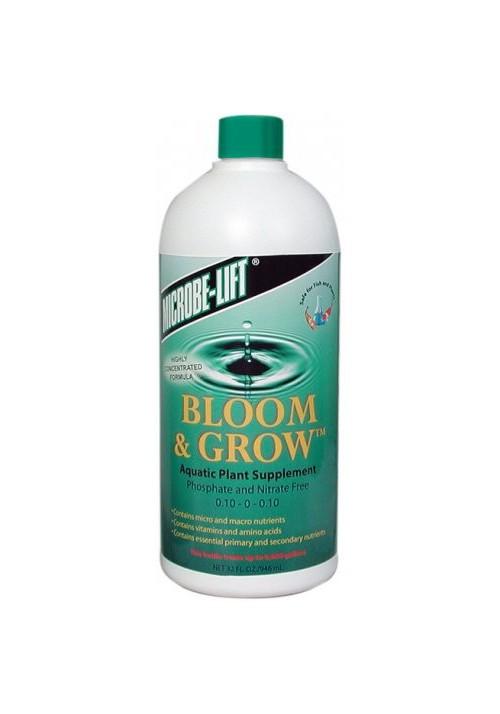 Engrais pour plantes aquatiques Microbe-Lift Bloom & Grow