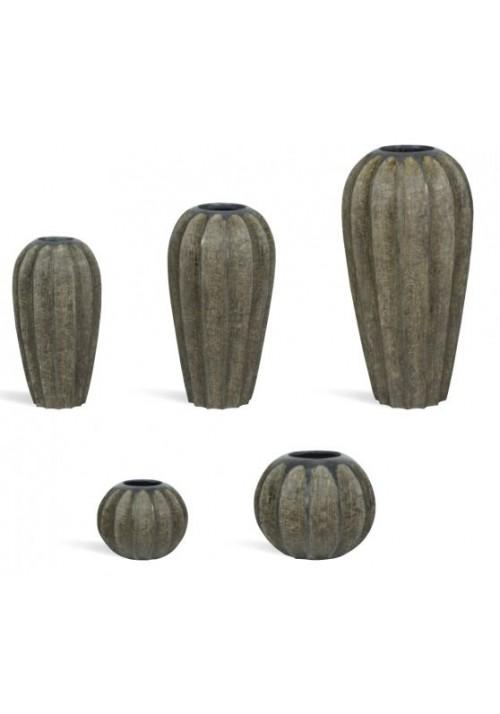 Pots décoratifs Désign FireWOOD rond