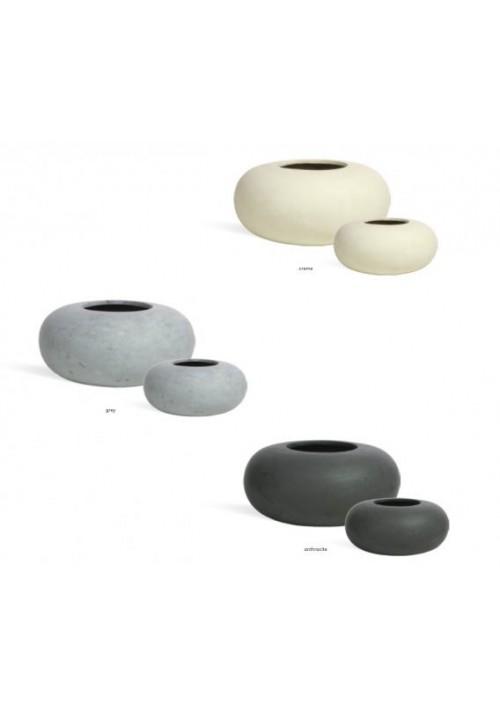 Pots décoratifs Désign Jarre basse- DONUT