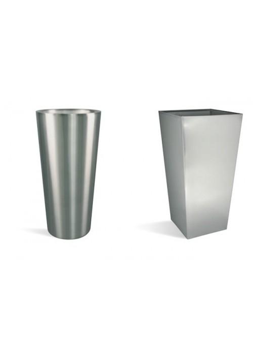 Pots décoratifs Désign INOX-KONUS