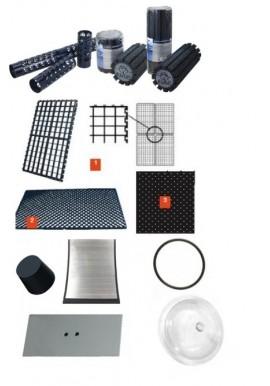 Accessoires et pièces pour filtres