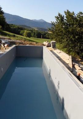 Etanchéité des piscines et bassins